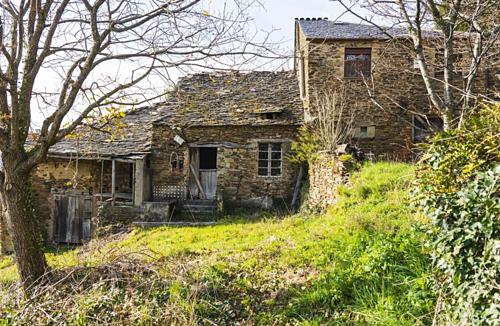 Một góc ngôi làng của Gustavo Iglesias tại Acorrada, Galicia (Tây Ban Nha). Ảnh: Bloomberg