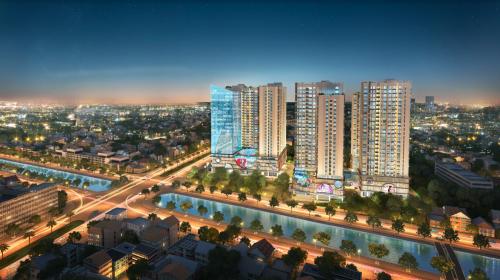 Hinode City được coi là lựa chọn tối ưu cho khách hàng tìm căn hộ cao cấp gần phố cổ
