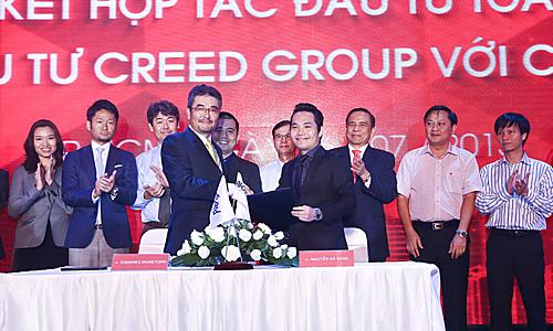 An Gia Investment ký kết hợp tác với Creed Group.