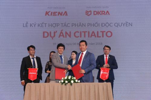 DKRA Vietnam luôn nhận được sự tin tưởng từ các nhà đầu tư trong triển khai phân phối dự án.