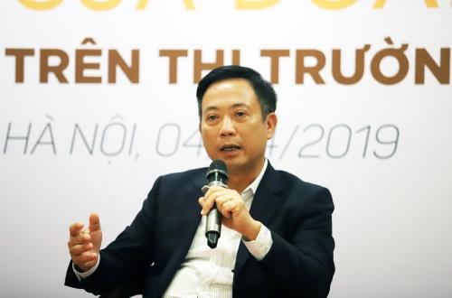 Ông Trần Văn Dũng, Chủ tịch Ủy ban chứng khoán Nhà nước.