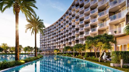 Phối cảnh dự án Mövenpick Resort Waverly Phú Quốc.