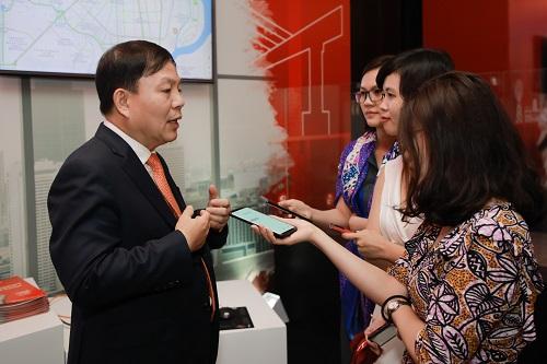 Ông Lê Đăng Dũng - Quyền Chủ tịch Tập đoàn Viettel chia sẻ về những thành tựu của Metfone.