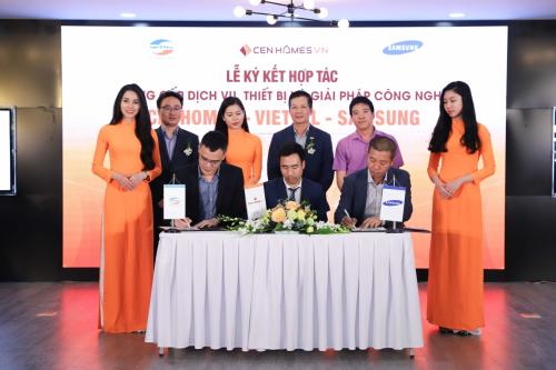 Viettel và Samsung kết hợpcùng CenHomes nhằm thay đổi cách thức giao dịch bất động sản truyền thống.