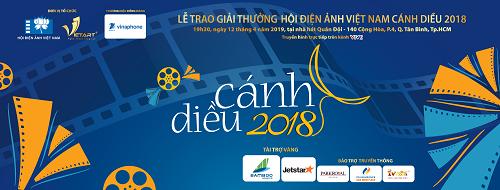 Lễ trao giải Cánh diều 2018 sẽ diễn ra tại TP HCM.