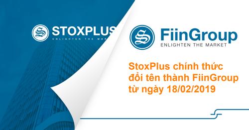 StoxPlus đổi tên thành FiinGroup nhằm tái cấu trúc thương hiệu và mở rộng kinh doanh.