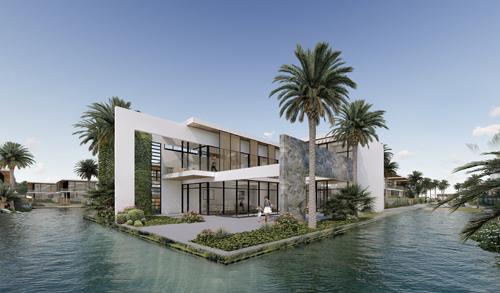 Các biệt thự của Malibu Hội An được thiết kế hòa quyện với thiên nhiên
