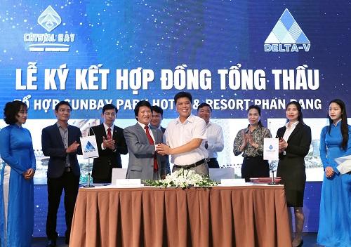 Tập đoàn DELTA sẽ là tổng thầu tổ hợp SunBay Park Hotel & Resort