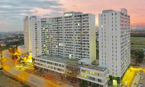 Một dự án căn hộ phân khúc bình dân tại TP HCM. Ảnh: Hao Bui