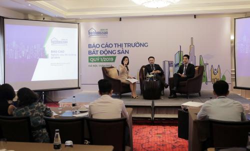 Sự kiện công bố Báo cáo thị trường bất động sản Việt Nam quý 1 năm 2019 do Batdongsan.com.vn thực ngày 10/4.