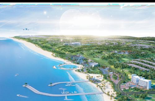 Phối cảnh dự án Novaworld Phan Thiết.