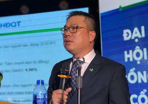 Ông Phạm Ánh Dương - Chủ tịch HĐQT Công ty cổ phần Nhựa và môi trường xanh An Phát. Ảnh: HT