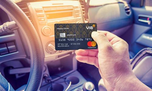 VIB là một trong những ngân hàng đầu tiên giới thiệu dòng thẻ dành riêng cho người sở hữu ôtô.