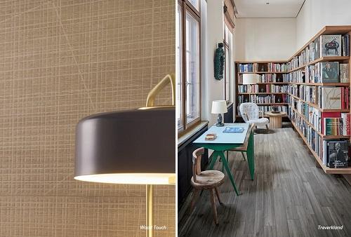 Nhờ khả năng chống thấm tốt cùng độ bền cao, gạch vân gỗ được sử dụng cho các không gian đa dạng.
