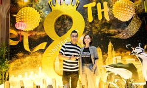 Thu Trang tổ chức tiệc mừng 'Chị Mười Ba' cán mốc 46 tỷ đồng