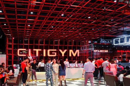 Chi nhánh CitiGym đặt tại các trung tâm thương mại lớn.