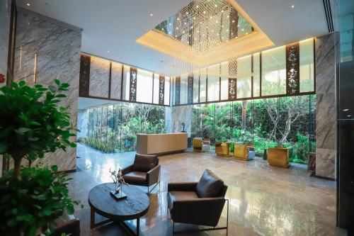 Thiết kế hiện đại trong biệt thự Serenity Sky Villas.