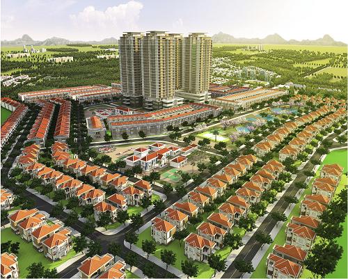 Phối cảnh dự án Phú Mỹ Gold City.