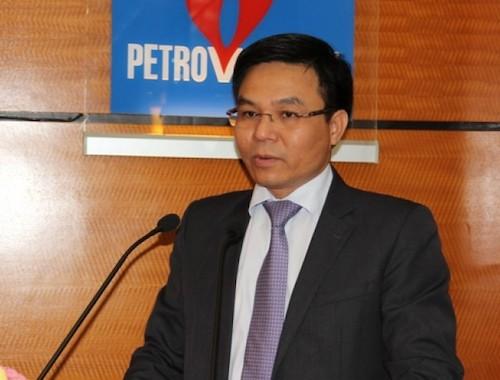 Ông Lê Mạnh Hùng - Phó tổng giám đốc PVN được giới thiệu giữ chức Tổng giám đốc.