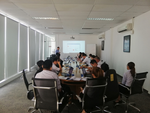 Phần mềm triển khai thành công tại Công ty CP Bột Thực Phẩm Tài Ký ( Takyfood)