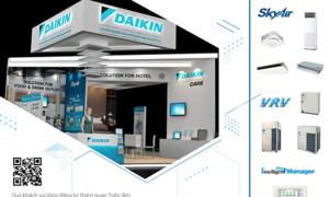 Daikin mang giải pháp cho nhà hàng, khách sạn tới Food & Hotel Vietnam