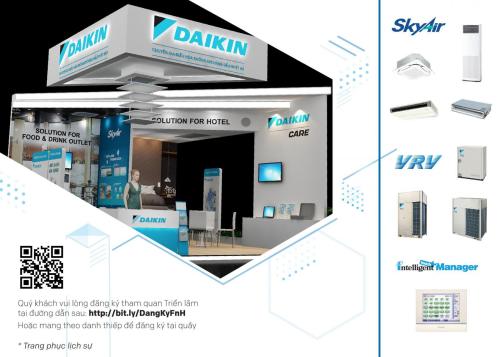 Daikin mang giải pháp cho nhà hàng, khách sạn đến triển lãm Food & Hotel 2019 - 1