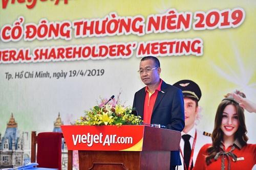 Ông Lưu Đức Khánh - Giám đốc Điều hành Vietjet.