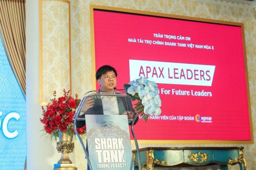 Shark Nguyễn Ngọc Thủy, chủ tịch HĐQT, người sáng lậpTập đoàn Egroup, sở hữu Apax Leaders.
