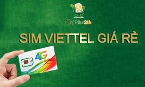 Xu hướng chọn mua sim Viettel số đẹp với giá rẻ