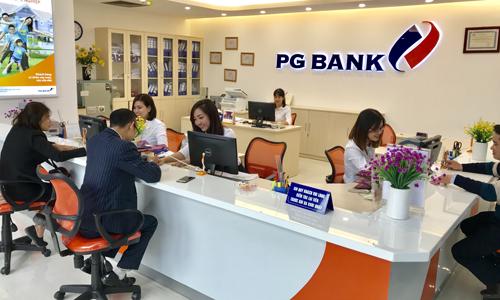 Một phòng giao dịch của PGBank.