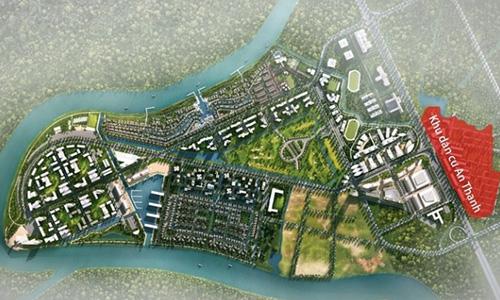Một siêu dự án 355ha của Nam Long tại Long An, khu vực thuộc vùng vệ tinh của TP HCM.