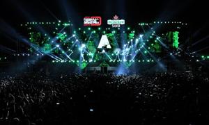 Đại tiệc tốc độ, âm nhạc tại sự kiện 'Khởi động F1 Việt Nam Grand Prix'