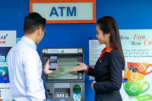Công nghệ thẻ không tiếp xúc cho phép khách hàng thanh toán chỉ bằng cách chạm hoặc vẫy nhẹ thẻ trước màn hình máy POS NFC.