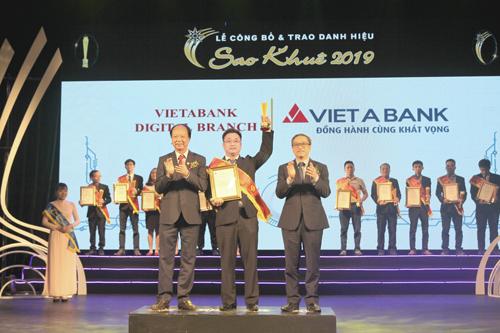 VietABank vinh dự nhận danh hiệu Sao Khuê năm 2019