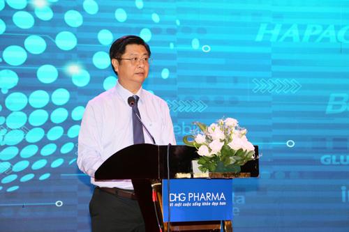 Ông Trương Quang Hoài Nam – Phó Chủ tịch UBND Thành phố Cần Thơ đánh giá cao nỗ lực của DHG Pharma, góp phần lớn vào việc chăm sóc sức khỏe người dân, ổn định đời sống người lao động Cần Thơ.