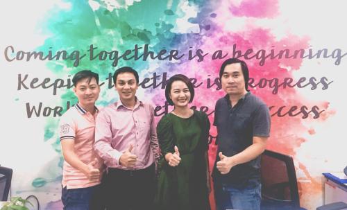 Nhóm triển khai ISO 27001:2013 tại Digipay cùng đơn vị tư vấn Vinastar - ông Tô Hoàng Nam. Thông tin liên hệ websitehoặc hotline028 73006806.