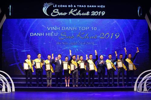 Top 10 giải thưởng Sao Khuê 2019.
