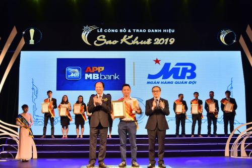 Ứng dụng ngân hàng MBBank đạt danh hiệu Sao Khuê