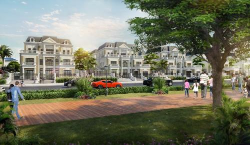 Đất nền, nhà phố vẫnlà điểm sáng của thị trường với khả năng thu hút vốn đầu tư cao.