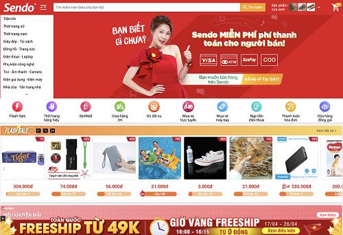 Sàn thương mại điện tử miễn phí thanh toán cho các nhà bán hàng từ đầu tháng 4.