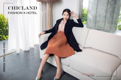 ChicLand hotel là tham vọng của thương hiệu thời trang ChicLand.