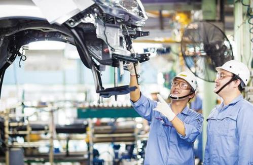 Công nghiệp hỗ trợ phát triển sẽ mang lại nhiều cơ hội cho lĩnh vực sản xuất ôtô.