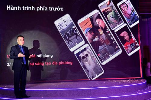 Ông Nguyễn Lâm Thanh nói về kế hoạch sắp tới của ứng dụng video ngắn TikTok.