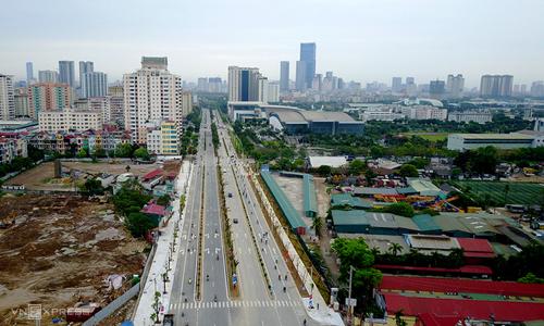 Một tuyến đường được đầu tư, xây dựng theo hình thức BT. Ảnh: Bá Đô