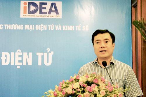 Ông Nguyễn Sinh Nhật Tân, Cục trưởng Cục Cạnh tranh và Bảo vệ quyền lợi người tiêu dùng cho biết hiện có gần một phần ba dân số tham gia mua sắm trực tuyến.