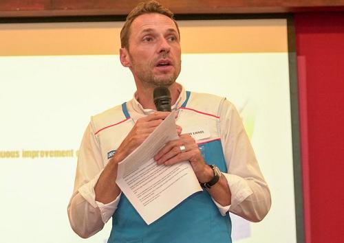 Ông Lionel Adenot - Giám đốc Quốc gia, Decathlon Việt Nam.