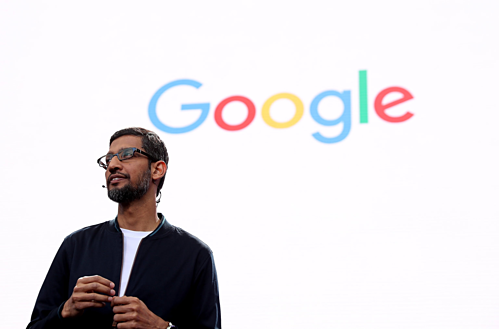 CEO Google - Sundar Pichai. Ảnh:Justin Sullivan