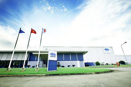 Nhà máy BlueScope Việt Nam.