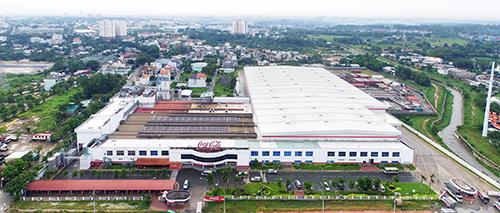 Nhà máy Cocacola HCM đạt chứng nhận công trình xanh theo tiêu chuẩn LEED (Mỹ).