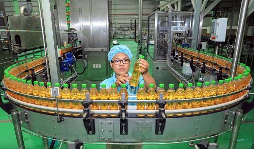 Dây chuyền sản xuất hiện đại sau 25 năm phát triển của Tân Hiệp Phát.